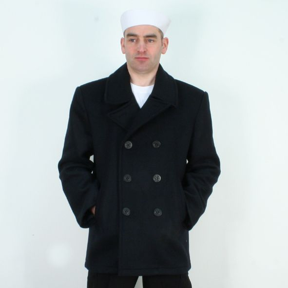 US Navy Pea Coat | Something to think about | Pinterest | Navy pea ...