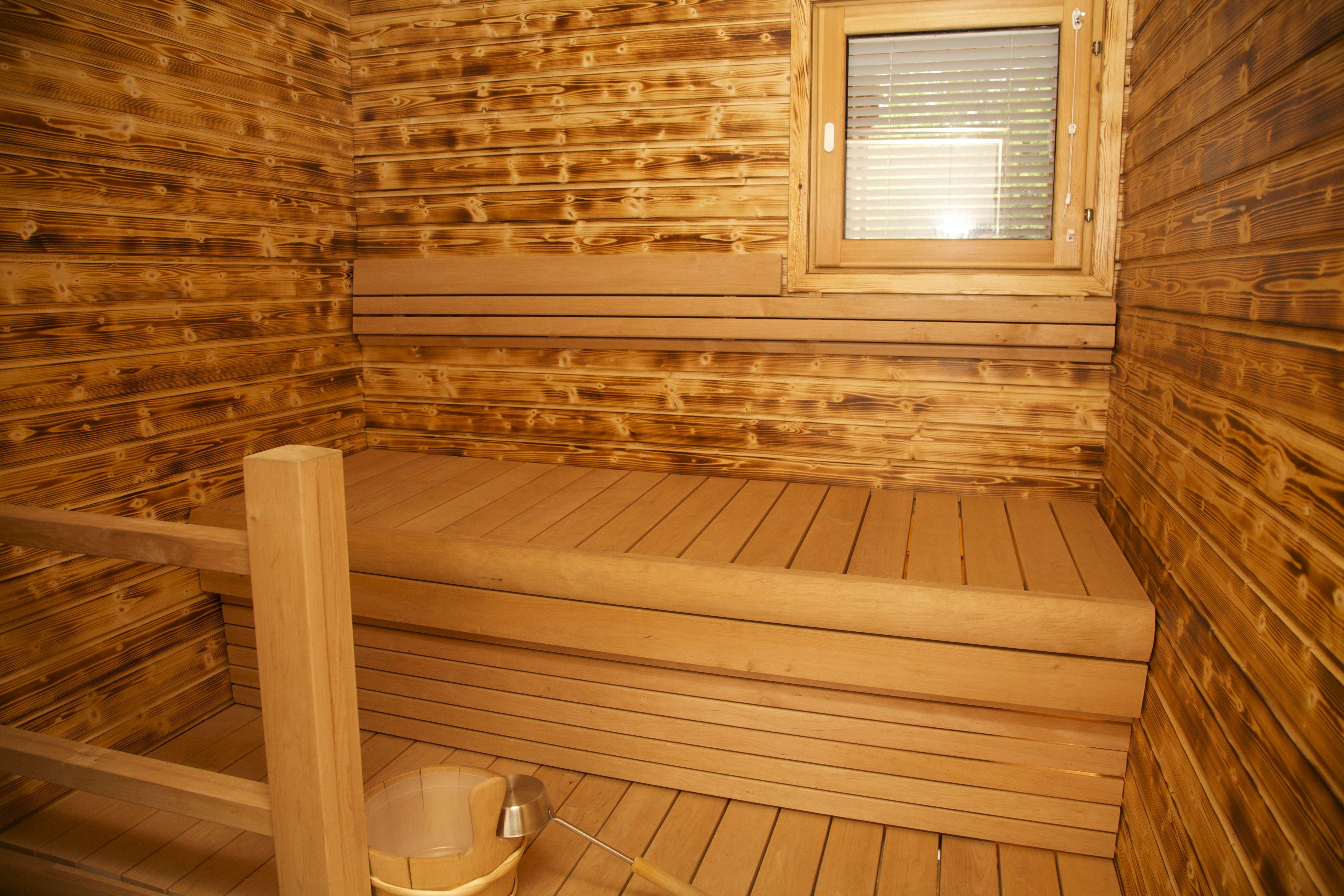 Riverside House apartment sauna | Arctic Circle Wilderness Lodge ...