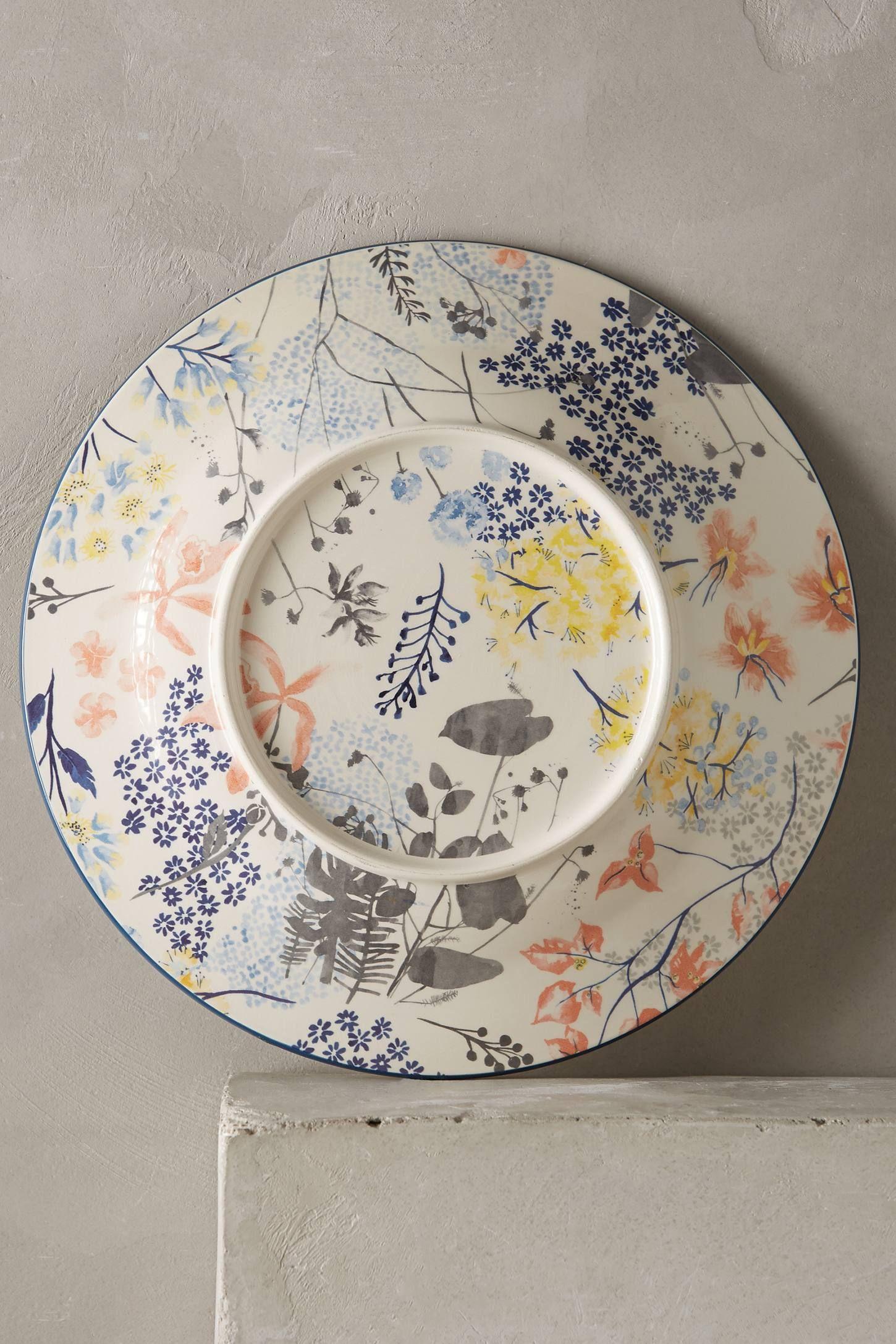 Garden Palette Dinner Plate Ceramic Painting Pottery Painting Pottery Plates