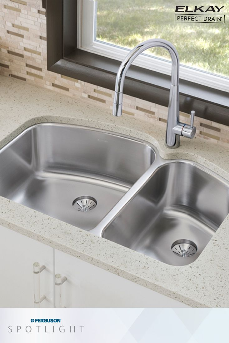 Experience A Cleaner Sink With The Elkayusa Perfect Drain This Edgeless Integrates Seamlessly Into Bottom Of Many Elkay S Most Por