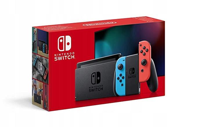 Kup Teraz Na Allegro Pl Za 1399 Zl Nintendo Switch Red Neon Nowy Model V2 2019 8880122000 Allegr Buy Nintendo Switch Nintendo Switch Nintendo Switch Games