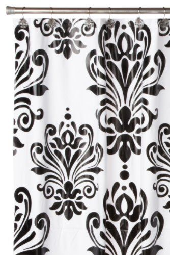 Carnation Home Fashions Beacon Hill Peva Shower Curtain and Matching ...