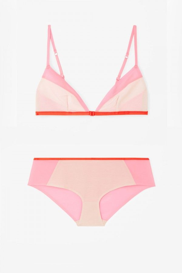 Cos Contrast Bra £25 And Contrast Knickers £17 - 17 Lingerie Sets That Are Sexy…