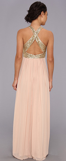 Blush Sequin Bridesmaid Dress Gold Bridesmaids Wedding Dresses Attire