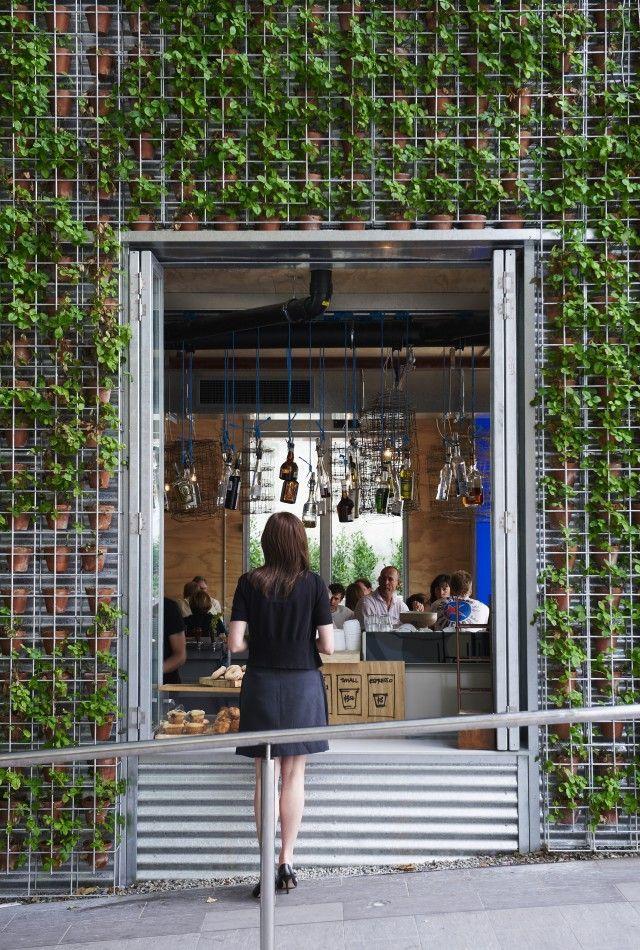 Green wall greenhouse perth pinterest garten architektur und gr ne fassade - Grune architektur ...