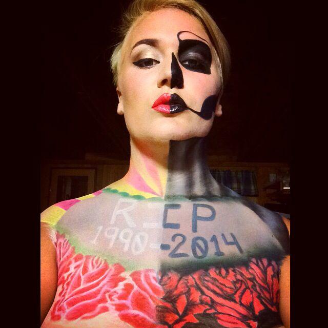 Life and death SFX makeup