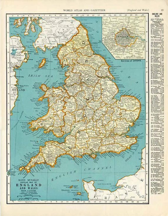 England and wales scotland 1935 map double sided colliers world england and wales scotland 1935 map double sided colliers world atlas and gazetteer book page gumiabroncs Choice Image