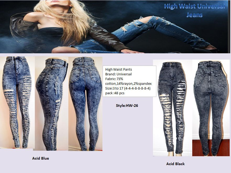 High waist jeans size 3 to 17 for only 875 high waist