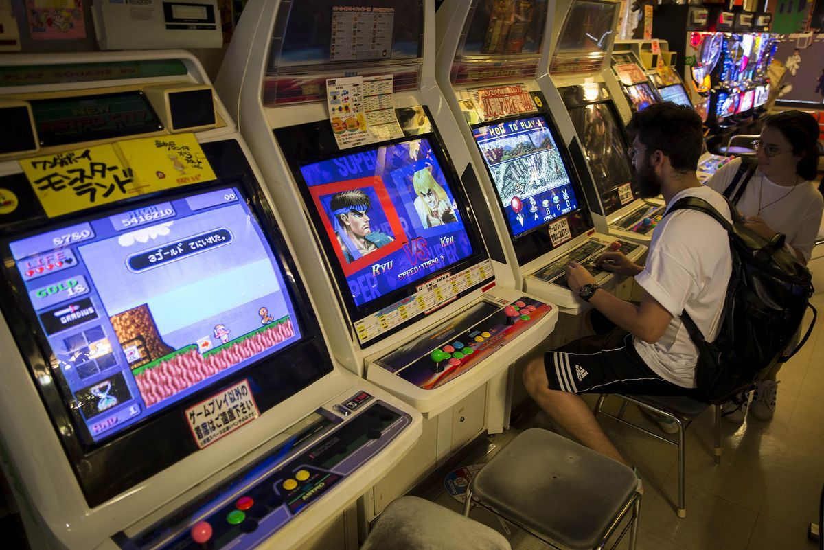 A blast from the past inside Japan's retro gaming shops