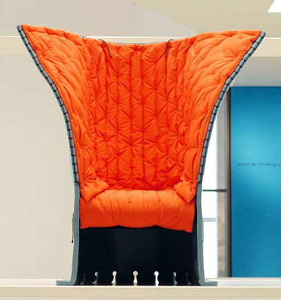 Gaetano Pesce, Chair Feltri, 1987. Made by Cassina, Italy. Collection Neue Sammlung, Munich.