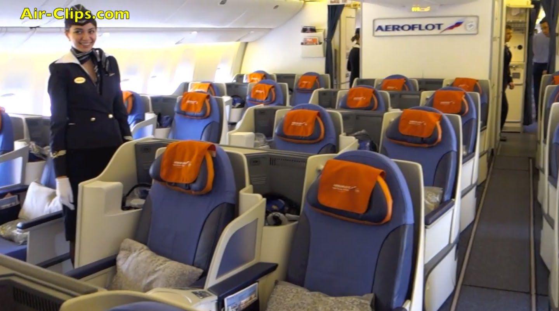 Aeroflot Boeing 777300 Business Class Hongkong to Moscow