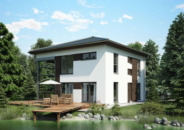 Fn 98-98 b v6 | Häuser | Okal haus, Haus bauen und Zeltdach