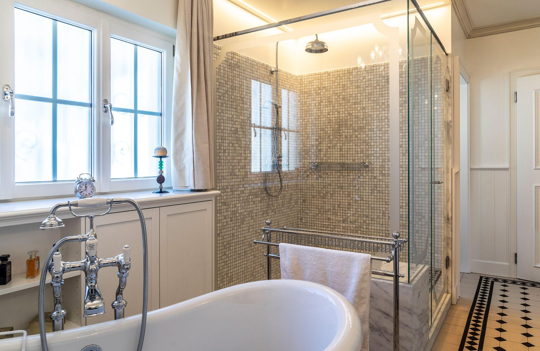 Retro Badezimmer Traditionelle Bader Badezimmer Gusseisen Badewanne