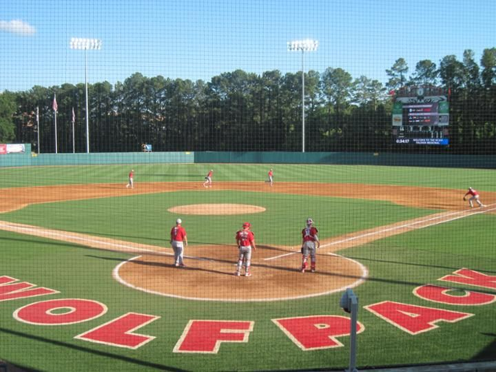 2013 College Baseball Ballpark Rankings College Baseball North Carolina State Wolfpack Nc State Wolfpack