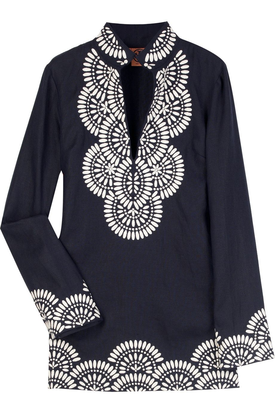 310e3d1fc38b tory burch linen tunic.  395. i ve been coveting this for a long time -  can t wait to pair with white pants