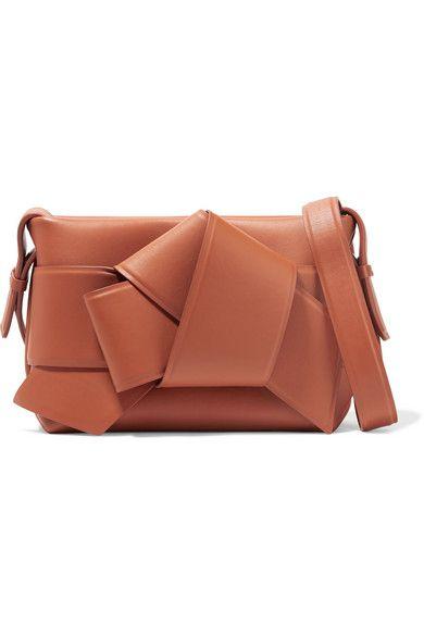4694d4a4e1 Acne Studios - Musubi Knotted Leather Shoulder Bag - Camel ...