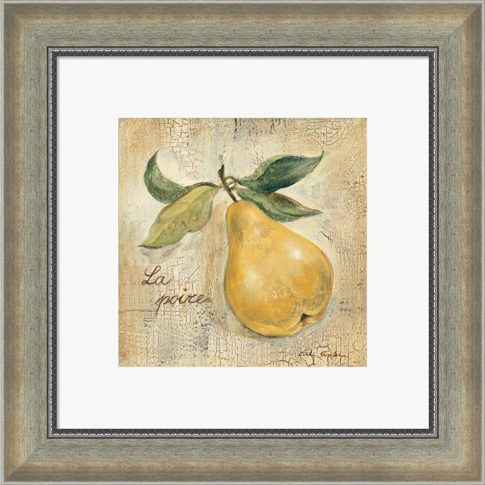 Silvia Vassileva \'La Poire\' Framed Art | Products | Pinterest ...