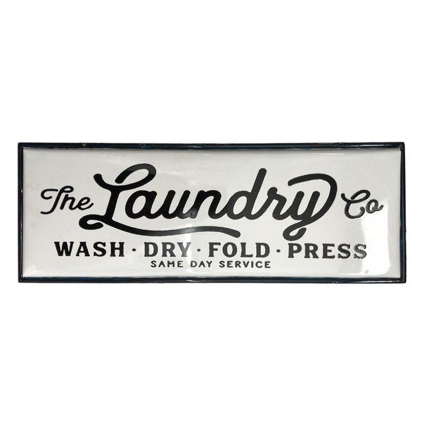 Wall Decor #laundrysigns