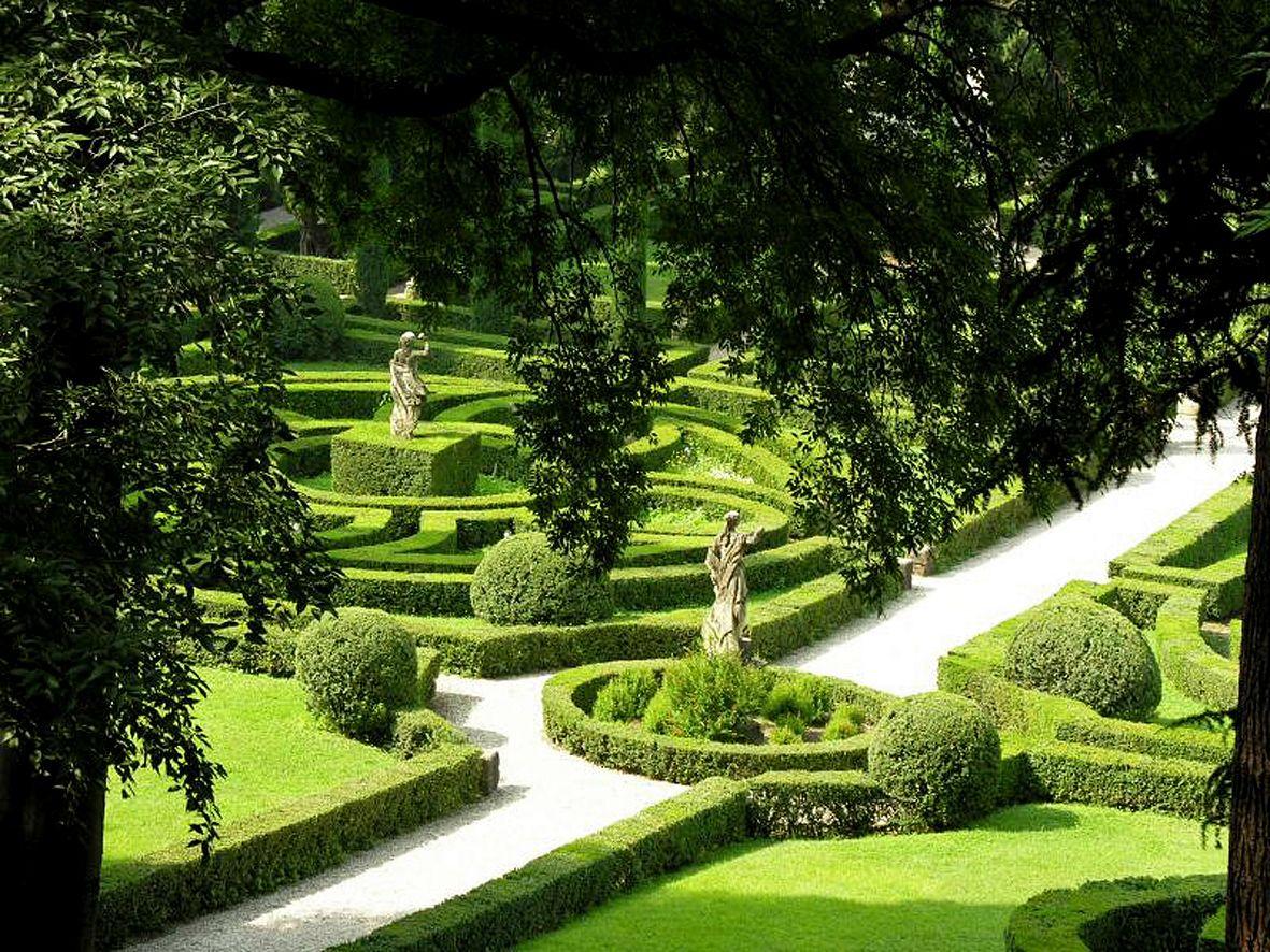 Un giardino all italiana u a guide in verona