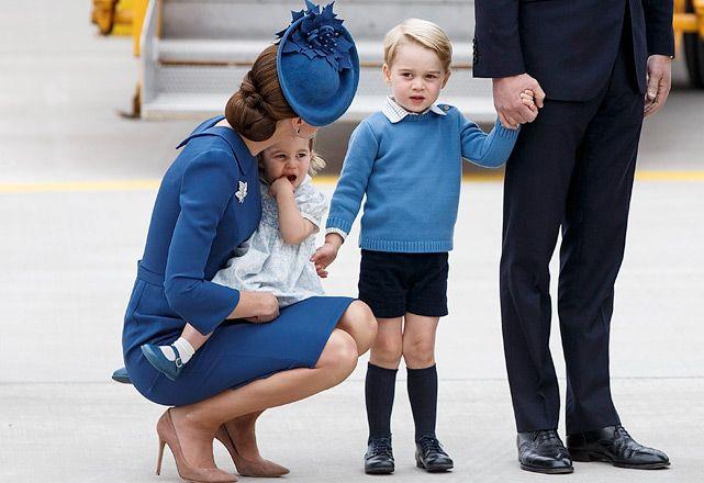 Por que o príncipe George está sempre de shorts? » Harper's Bazaar