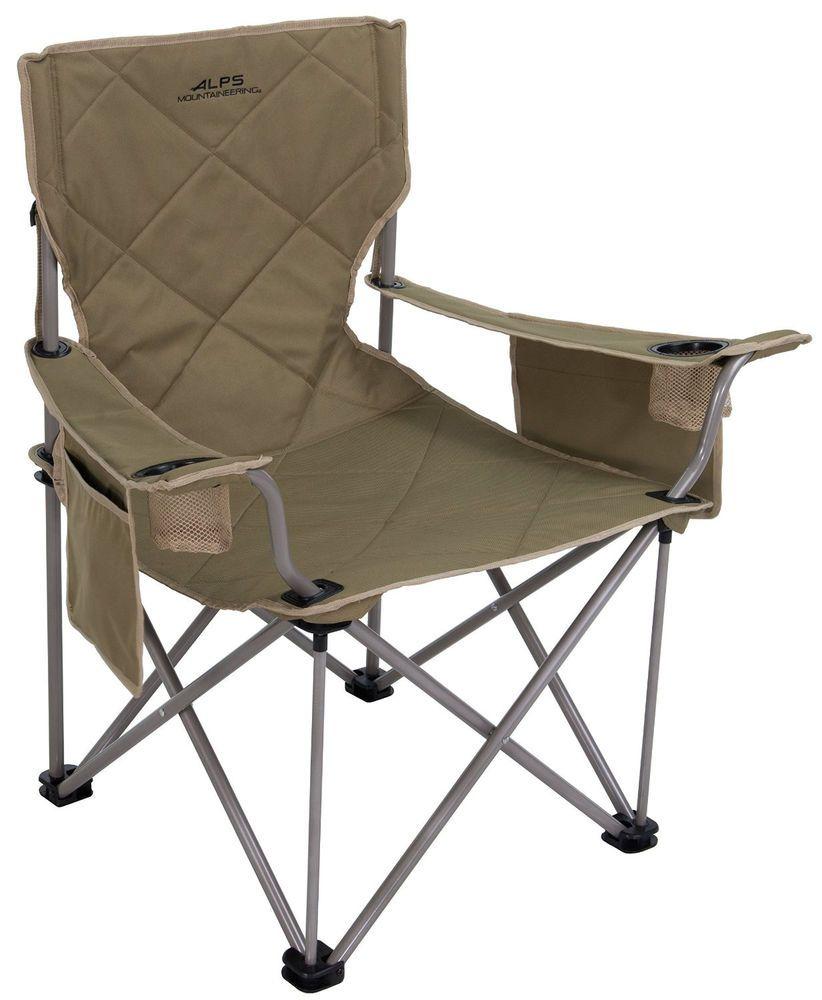 Folding Portable Lawn Chair 800 Lb Capacity Heavy Duty Oversized