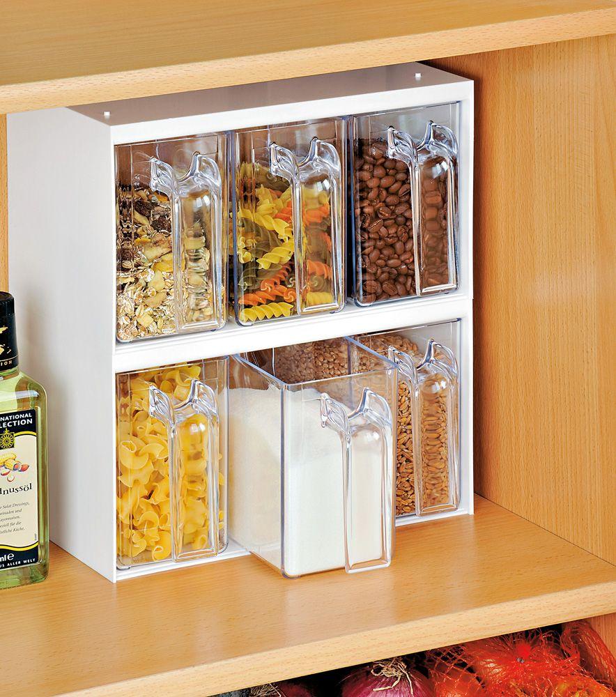 Mueble especial para tarros de cocina textil y hogar 6e for Mueble organizador