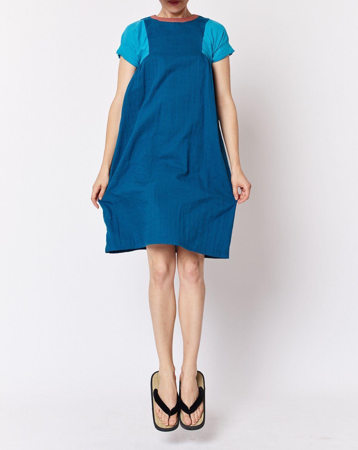 Tri Dress - Blue