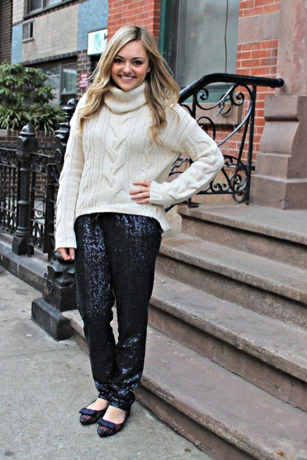 Sequin Pants Outfit Idea | | Fashion