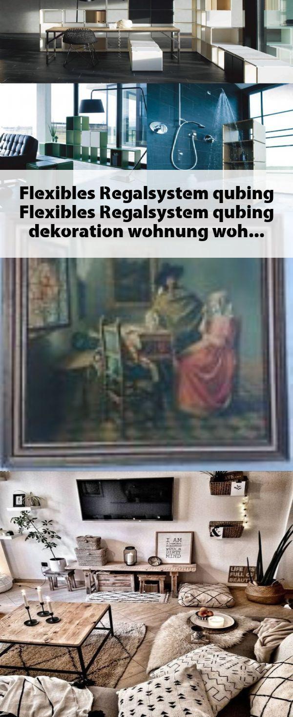 Photo of Fleksibelt hyllesystem qubing #Fleksibelt # hyllesystem #qubing #dekoration #wohnun …