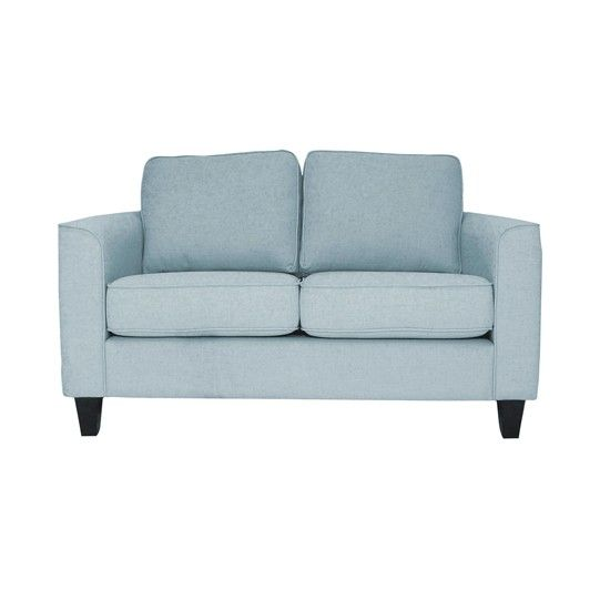 At 136cms this is a lovely small sofa - need small to keep the space flowing