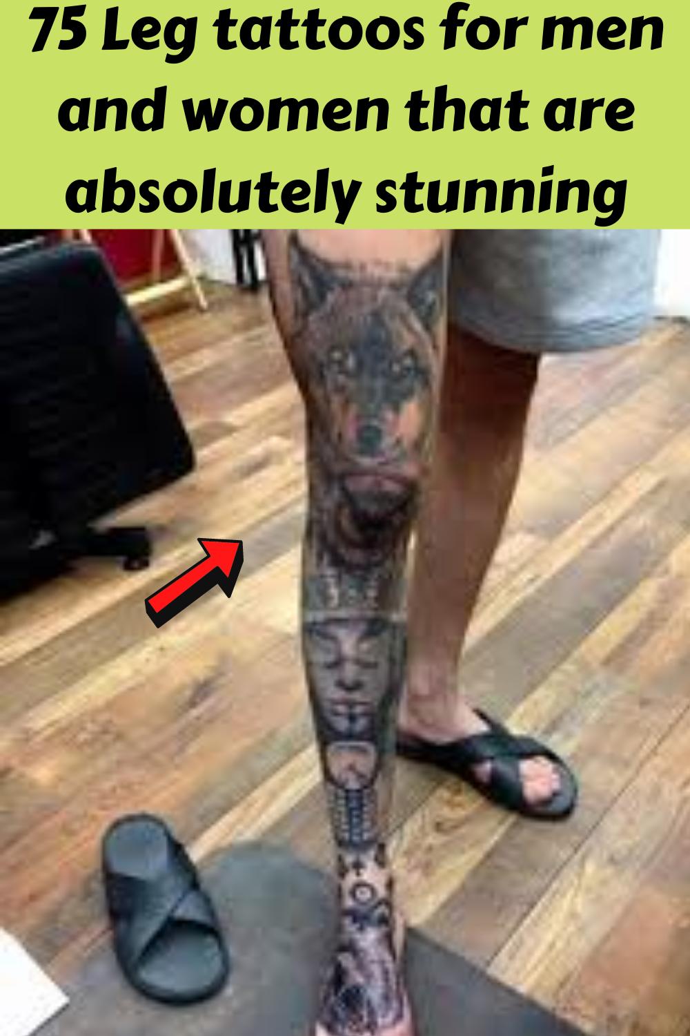 Photo of 75 Leg tattoos for men and women that are absolutely stunning
