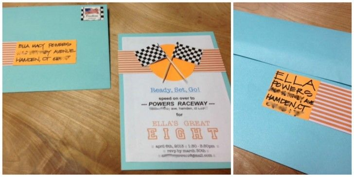 Diy Blue And White 8th Birthday Party Invitation With Two Flags Card Top Images Motive Decorating 15 Card Examples Of 8th Birthday Party Invitation Birthday Invitations