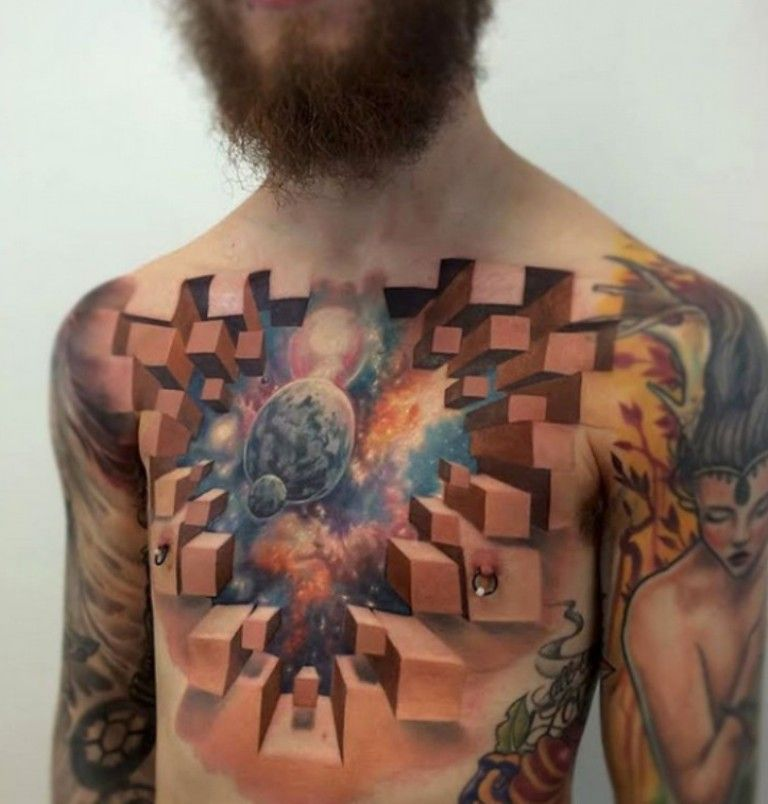Cool Jaw Tattoos: 55 Most Jaw-Dropping 3D Tattoos You Have Never Seen
