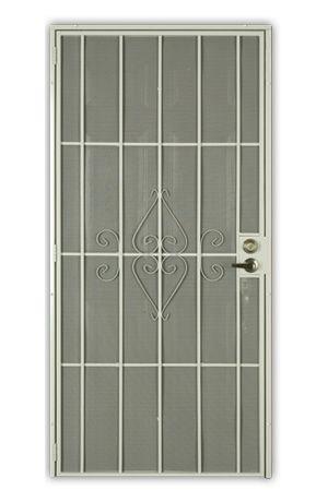 Security Screen Doors Help Me Install It Puertas De Metal