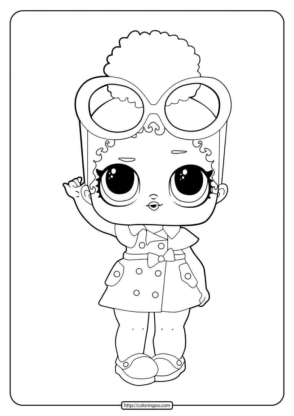 Printable Lol Surprise Boss Queen Coloring Pages Coloring Pages Lol Dolls Lol