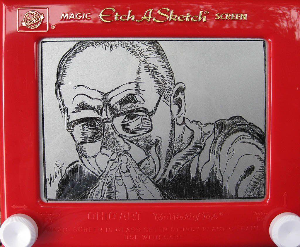 etch a sketch artwork