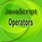 JavaScript Conditional operators