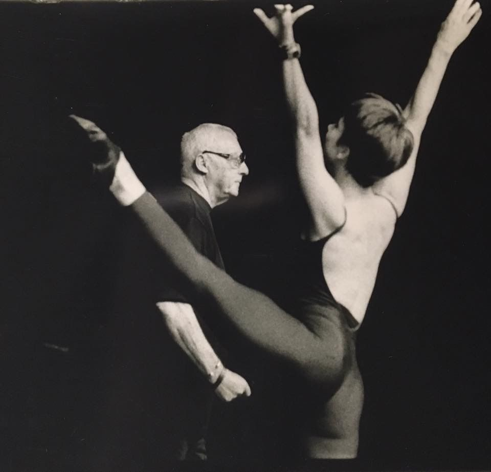 Liz Nelson T One Of The Fathers Of Jazz Dance Gus Giordano And Me I Am So Thankful To Be Part Of The Giordano Legacy