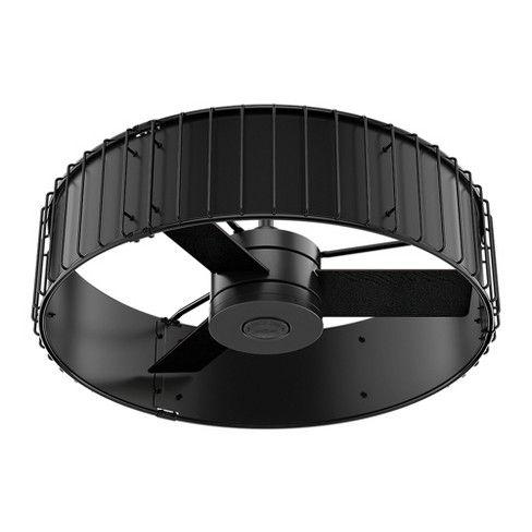 Ceiling Fan with Light Black 32.68 X 21.65 X 10 - Hunter ...
