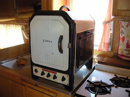 1937 Tabletop Electric Stove And Oven Perfect For Travel Trailers Campers