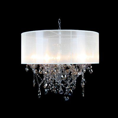 Modern Crystal Chandelier Home Lighting Champagne