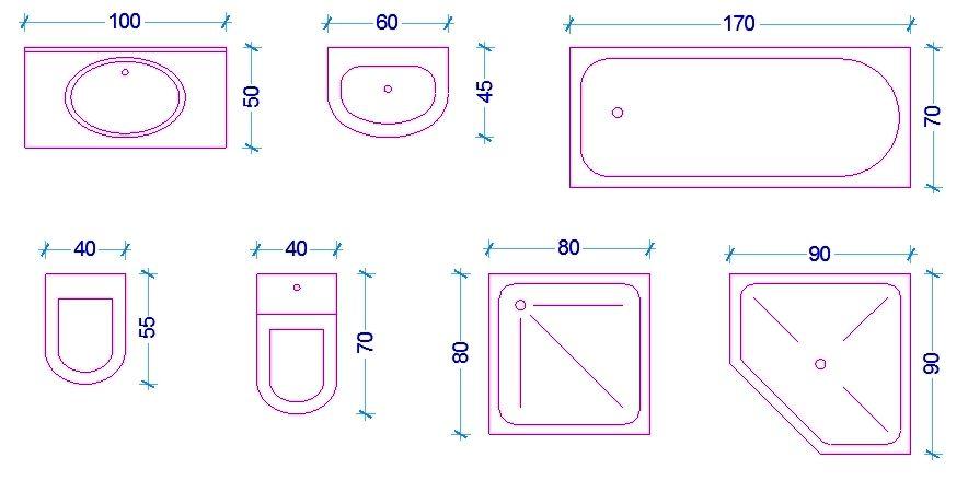 Continua la serie di articoli riguardanti le misure dell for Mobile bagno misure