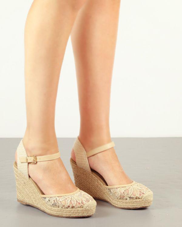 De Zapatos Con PulseraCuñas Y Plataforma Cuña Alpargata uOPikXZ