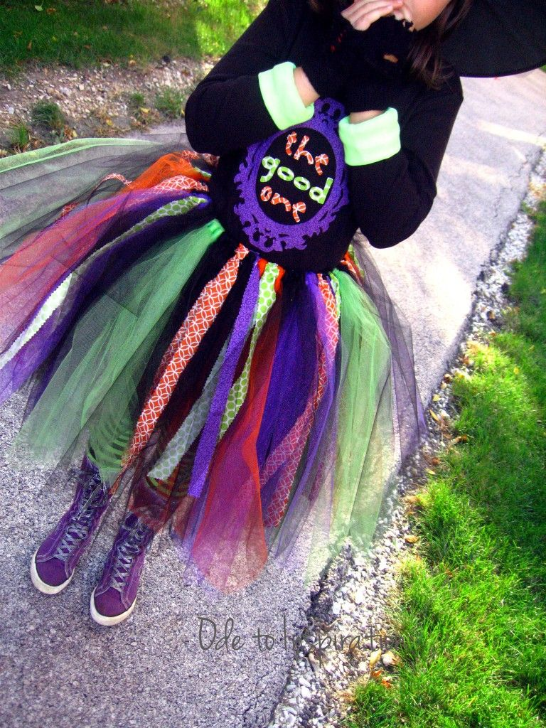 Funky Witch Tutu Costume