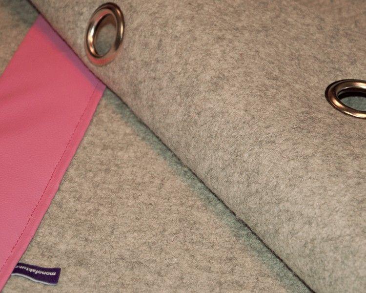 akustikvorhang aus filz schallabsorbierender und schallreduzierender vorhang haus schmitt. Black Bedroom Furniture Sets. Home Design Ideas