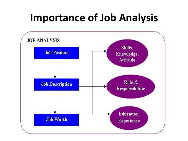 Importance Of Job Analysis It Is Defined As A Collection Of