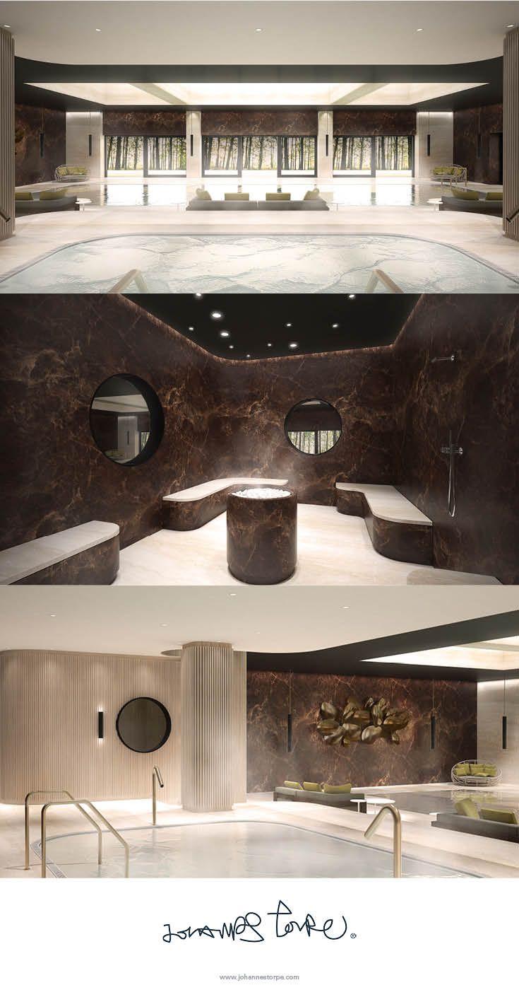 Spa Area Of The Luxury Villa Concept Design Villa Zhao Therme