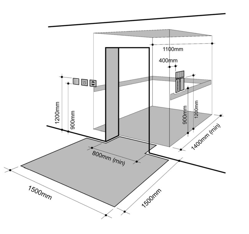 Residential Lift Dimensions Google Search Unit 5