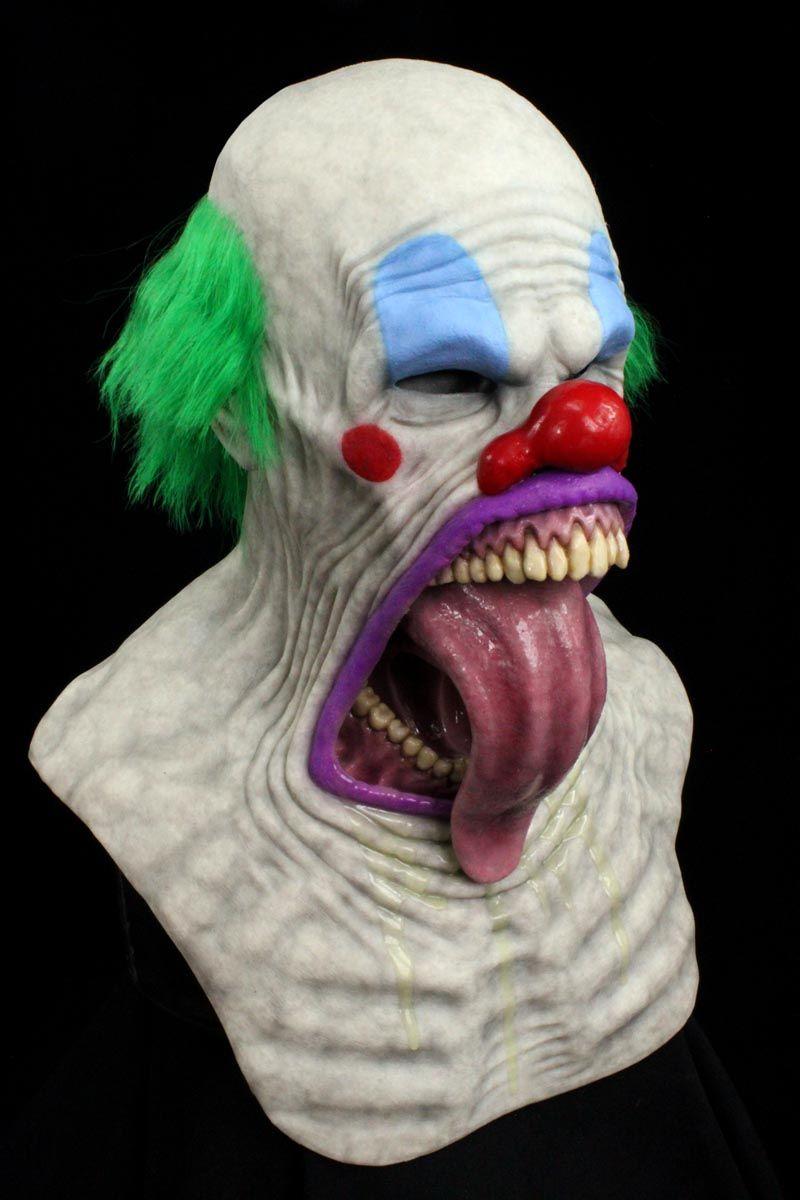 Tongue out clown mask by CFX mask.   Halloween   Pinterest   Clown ...