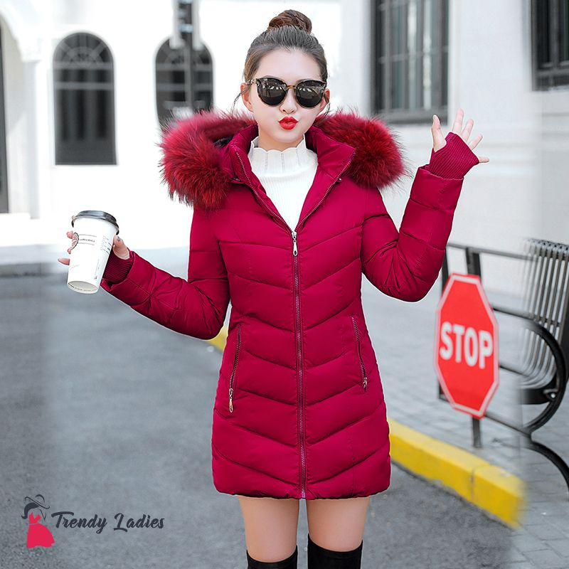 d66a44839c Buy Winter Jacket Women s Thick Winter Coat Lady Clothing at  trendy-ladies.com! Free shipping to 185 countries. 45 days money back  guarantee.